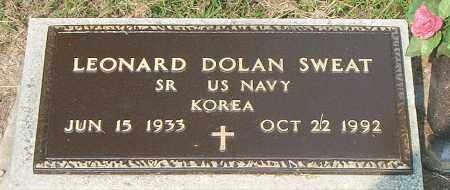 SWEAT  (VETERAN KOR), LEONARD DOLAN - Boone County, Arkansas | LEONARD DOLAN SWEAT  (VETERAN KOR) - Arkansas Gravestone Photos
