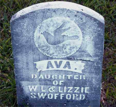 SWOFFORD, AVA - Boone County, Arkansas | AVA SWOFFORD - Arkansas Gravestone Photos