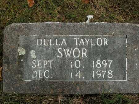 TAYLOR SWOR, DELLA - Boone County, Arkansas | DELLA TAYLOR SWOR - Arkansas Gravestone Photos