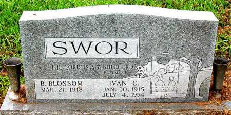 SWOR, IVAN C - Boone County, Arkansas | IVAN C SWOR - Arkansas Gravestone Photos