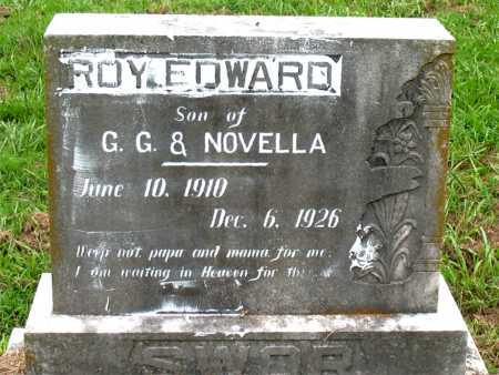 SWOR, ROY EDWARD - Boone County, Arkansas   ROY EDWARD SWOR - Arkansas Gravestone Photos