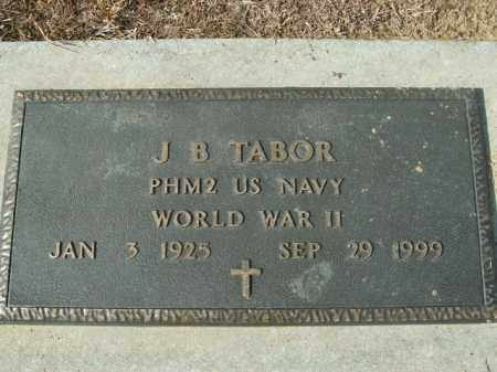 TABOR  (VETERAN WWII), J.B. - Boone County, Arkansas | J.B. TABOR  (VETERAN WWII) - Arkansas Gravestone Photos