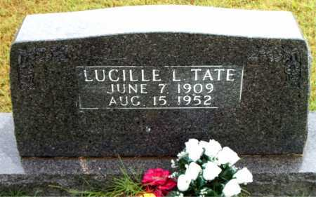 TATE, LUCILLE    L - Boone County, Arkansas | LUCILLE    L TATE - Arkansas Gravestone Photos
