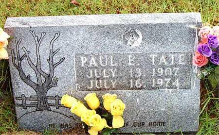 TATE, PAUL   E - Boone County, Arkansas | PAUL   E TATE - Arkansas Gravestone Photos
