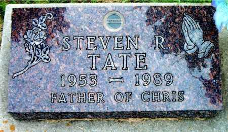 TATE, STEVEN  R - Boone County, Arkansas | STEVEN  R TATE - Arkansas Gravestone Photos