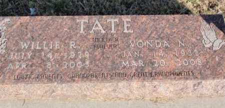 TATE, WILLIE RANSON - Boone County, Arkansas | WILLIE RANSON TATE - Arkansas Gravestone Photos