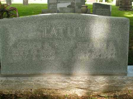 TATUM, WILLIAM S. - Boone County, Arkansas | WILLIAM S. TATUM - Arkansas Gravestone Photos