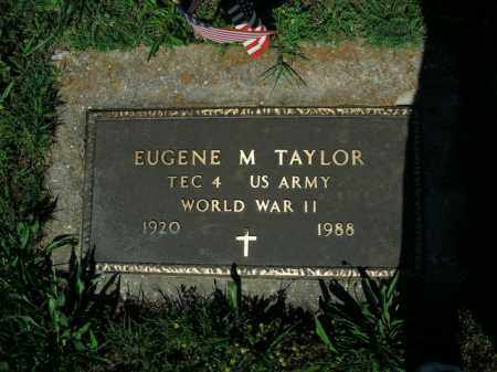 TAYLOR  (VETERAN WWII), EUGENE M. - Boone County, Arkansas | EUGENE M. TAYLOR  (VETERAN WWII) - Arkansas Gravestone Photos