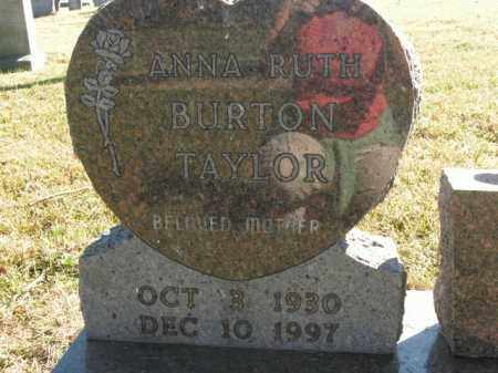 TAYLOR, ANNA RUTH - Boone County, Arkansas | ANNA RUTH TAYLOR - Arkansas Gravestone Photos