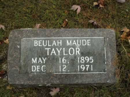 TAYLOR, BEULAH MAUDE - Boone County, Arkansas | BEULAH MAUDE TAYLOR - Arkansas Gravestone Photos