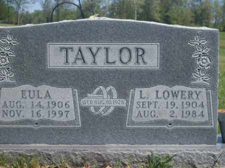 TAYLOR, LONNIE LOWERY - Boone County, Arkansas | LONNIE LOWERY TAYLOR - Arkansas Gravestone Photos
