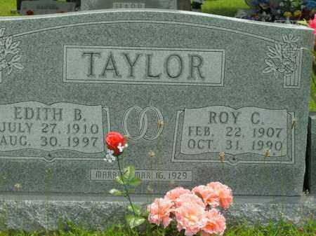TAYLOR, EDITH B. - Boone County, Arkansas | EDITH B. TAYLOR - Arkansas Gravestone Photos