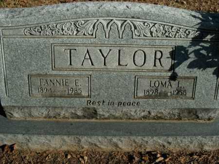 TAYLOR, LOMA L. - Boone County, Arkansas | LOMA L. TAYLOR - Arkansas Gravestone Photos