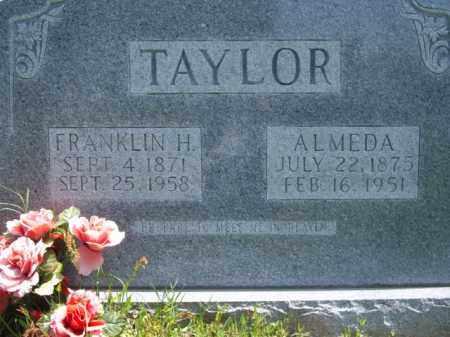 TAYLOR, ALMEDA - Boone County, Arkansas | ALMEDA TAYLOR - Arkansas Gravestone Photos