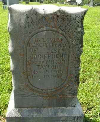 TAYLOR, IRBY JOCIEPHENE - Boone County, Arkansas | IRBY JOCIEPHENE TAYLOR - Arkansas Gravestone Photos