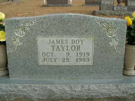 TAYLOR, JAMES DOY - Boone County, Arkansas | JAMES DOY TAYLOR - Arkansas Gravestone Photos