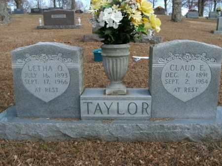 TAYLOR, CLAUD E. - Boone County, Arkansas | CLAUD E. TAYLOR - Arkansas Gravestone Photos