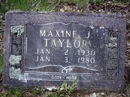 TAYLOR, MAXINE JUANITA - Boone County, Arkansas | MAXINE JUANITA TAYLOR - Arkansas Gravestone Photos