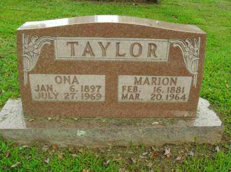TAYLOR, ONA - Boone County, Arkansas | ONA TAYLOR - Arkansas Gravestone Photos