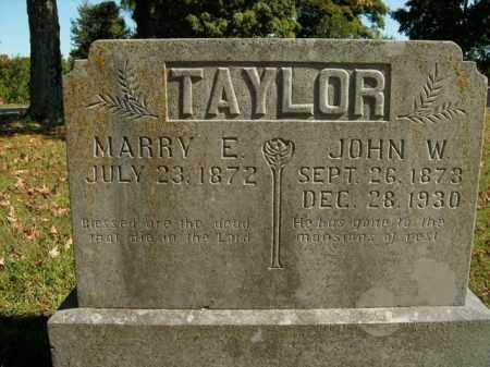 TAYLOR, MARRY E. - Boone County, Arkansas | MARRY E. TAYLOR - Arkansas Gravestone Photos