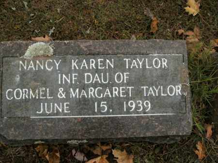 TAYLOR, NANCY KAREN - Boone County, Arkansas | NANCY KAREN TAYLOR - Arkansas Gravestone Photos
