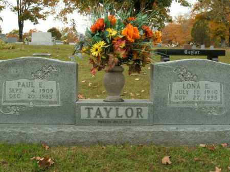 TAYLOR, PAUL E. - Boone County, Arkansas | PAUL E. TAYLOR - Arkansas Gravestone Photos
