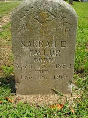TAYLOR, SARRAH E. - Boone County, Arkansas | SARRAH E. TAYLOR - Arkansas Gravestone Photos