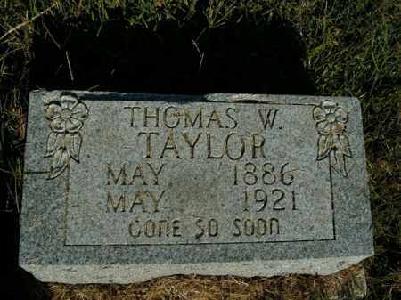 TAYLOR, THOMAS W. - Boone County, Arkansas | THOMAS W. TAYLOR - Arkansas Gravestone Photos