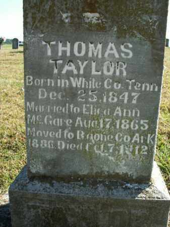 TAYLOR, THOMAS MATTERSON - Boone County, Arkansas | THOMAS MATTERSON TAYLOR - Arkansas Gravestone Photos