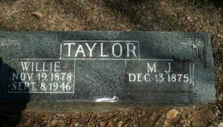 TAYLOR, WILLIE - Boone County, Arkansas | WILLIE TAYLOR - Arkansas Gravestone Photos