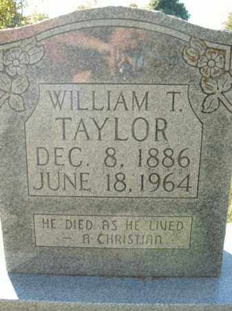 TAYLOR, WILLIAM T. - Boone County, Arkansas | WILLIAM T. TAYLOR - Arkansas Gravestone Photos