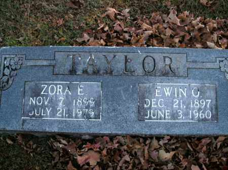 TAYLOR, EWIN O. - Boone County, Arkansas | EWIN O. TAYLOR - Arkansas Gravestone Photos