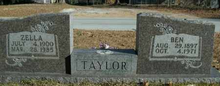 TAYLOR, ZELLA - Boone County, Arkansas | ZELLA TAYLOR - Arkansas Gravestone Photos
