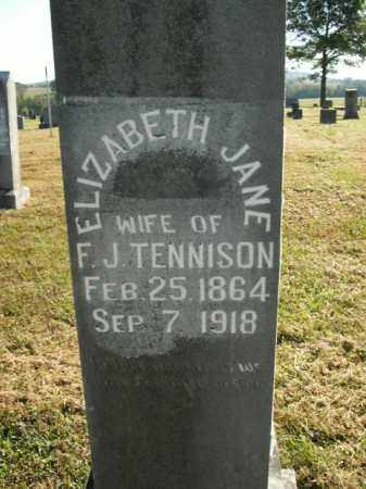TENNISON, ELIZABETH JANE - Boone County, Arkansas | ELIZABETH JANE TENNISON - Arkansas Gravestone Photos