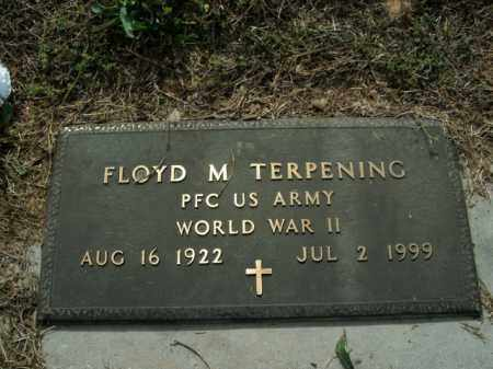 TERPENING  (VETERAN WWII), FLOYD M. - Boone County, Arkansas | FLOYD M. TERPENING  (VETERAN WWII) - Arkansas Gravestone Photos