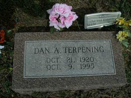 TERPENING, DAN A. - Boone County, Arkansas | DAN A. TERPENING - Arkansas Gravestone Photos