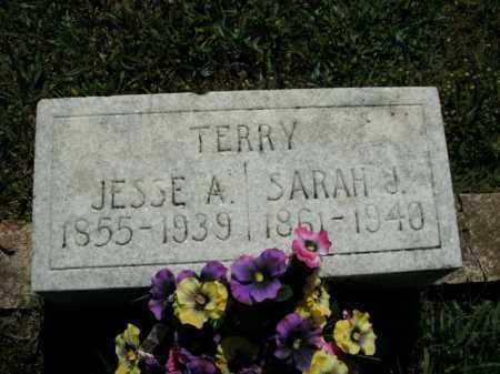 TERRY, JESSE A. - Boone County, Arkansas | JESSE A. TERRY - Arkansas Gravestone Photos