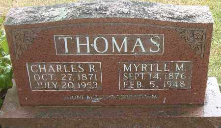 THOMAS, CHARLES  R. - Boone County, Arkansas | CHARLES  R. THOMAS - Arkansas Gravestone Photos
