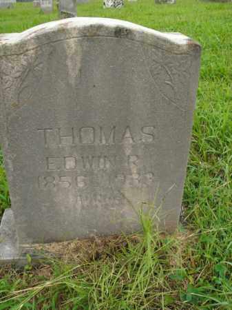 THOMAS, EDWIN R. - Boone County, Arkansas   EDWIN R. THOMAS - Arkansas Gravestone Photos