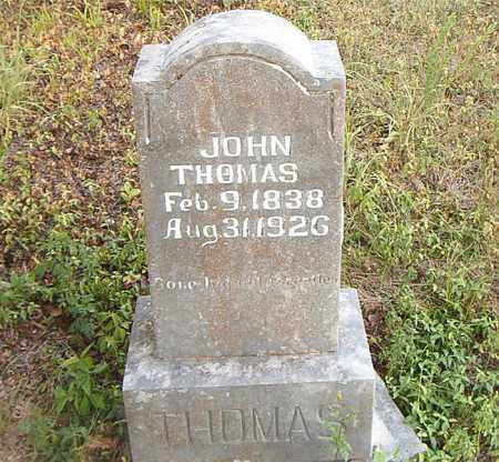 THOMAS, JOHN - Boone County, Arkansas | JOHN THOMAS - Arkansas Gravestone Photos