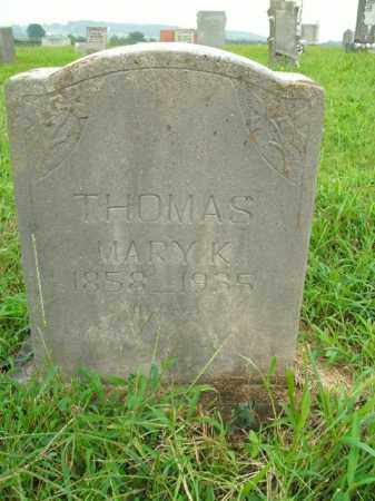 THOMAS, MARY K. - Boone County, Arkansas | MARY K. THOMAS - Arkansas Gravestone Photos