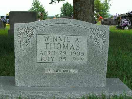 THOMAS, WINNIE A. - Boone County, Arkansas | WINNIE A. THOMAS - Arkansas Gravestone Photos