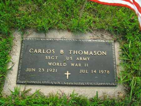 THOMASON  (VETERAN WWII), CARLOS B. - Boone County, Arkansas | CARLOS B. THOMASON  (VETERAN WWII) - Arkansas Gravestone Photos