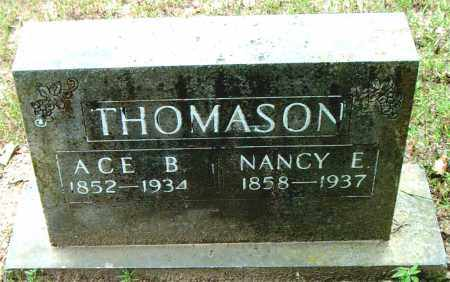 THOMASON, NANCY  E. - Boone County, Arkansas | NANCY  E. THOMASON - Arkansas Gravestone Photos