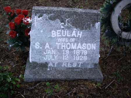 THOMASON, BEULAH - Boone County, Arkansas | BEULAH THOMASON - Arkansas Gravestone Photos