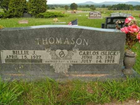 "THOMASON, CARLOS ""SLICK"" - Boone County, Arkansas 