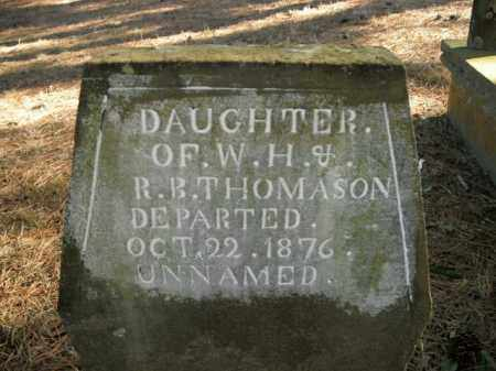 THOMASON, DAUGHTER - Boone County, Arkansas | DAUGHTER THOMASON - Arkansas Gravestone Photos