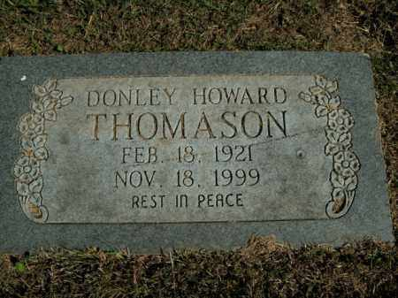 THOMASON, DONLEY HOWARD - Boone County, Arkansas | DONLEY HOWARD THOMASON - Arkansas Gravestone Photos