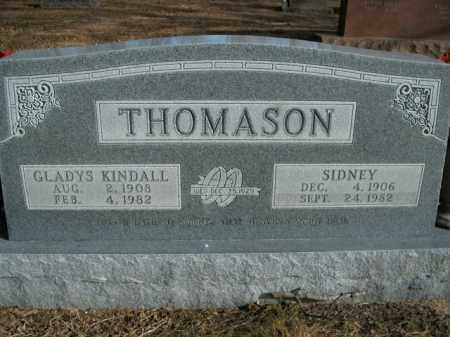 KINDALL THOMASON, GLADYS - Boone County, Arkansas | GLADYS KINDALL THOMASON - Arkansas Gravestone Photos