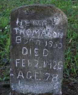 THOMASON, HENRY - Boone County, Arkansas | HENRY THOMASON - Arkansas Gravestone Photos